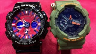 Casio G-Shock GA-120B-1AJF Crazy color series - USED