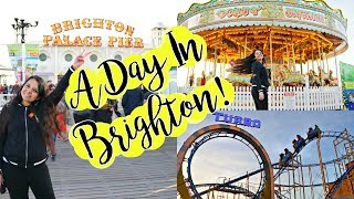 Our Day trip to Brighton! Places to visit | A day in my life!