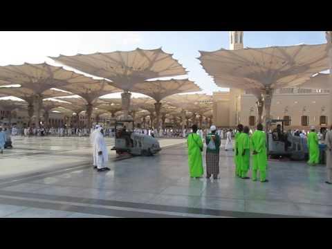 Смотреть Саудовская Аравия. Медина. Мечеть Пророка онлайн