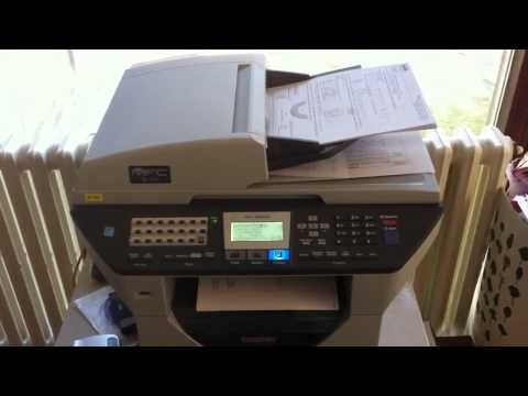 mfc-5460cn scan to pdf using adf