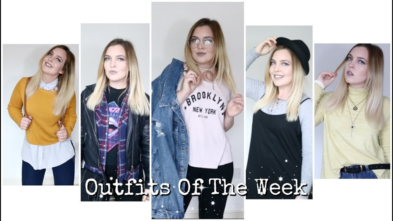 585069f5aaad Outfits Of The Week!! - YouTube