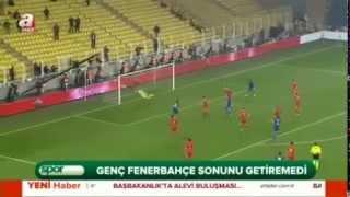 Fenerbahçe:1-Kayserispor:2