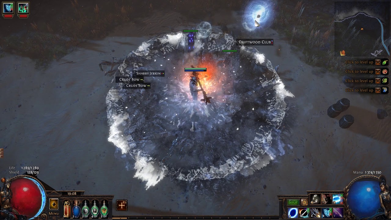 3 8] Frostbolt + Ice Nova Witch (Occultist) | Path of Exile Gems