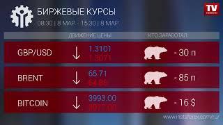InstaForex tv news: Кто заработал на Форекс 08.03.2019 15:30