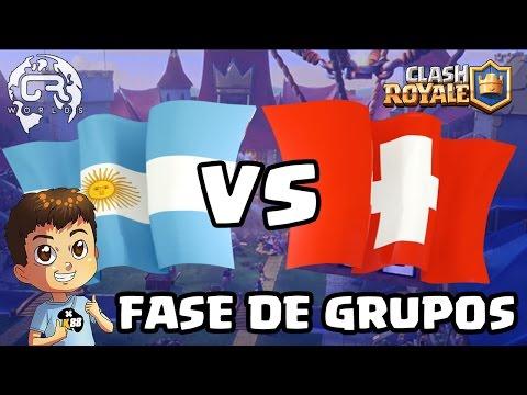 CR WORLDS - ARGENTINA VS SUIZA - KManuS88 - Clash Royale