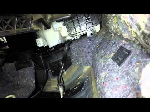 Очистка кондиционера на Nissan Teana j32
