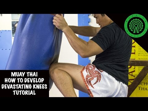 Muay Thai How to Develop Devastating Knees Tutorial