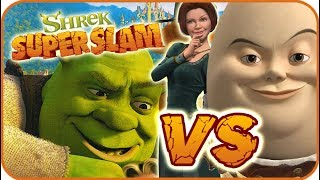 Shrek Super Slam Game Part 4 (Gamecube, PC, PS2, XBOX) Fiona VS Humpty Dumpty