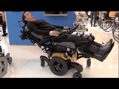 Neu Elektrorollstuhl Steh Liege Relaxen Rollstuhl Sopur