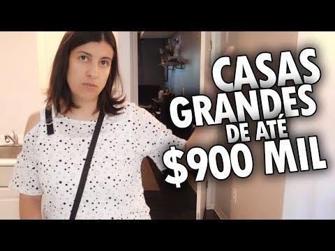 CASAS GRANDES por MENOS de 900 MIL DÓLARES no CANADÁ - OPEN HOUSE CANADÁ DIÁRIO #4