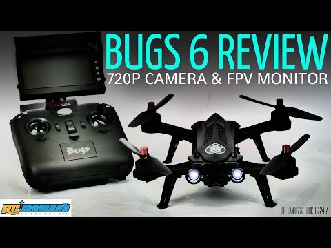 MJX BUGS 6 Flight Review - Impressive Brushless FPV RTF Package