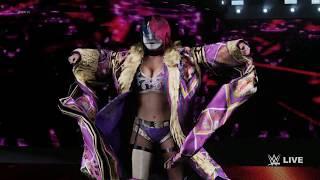 WWE 2K18 Asuka : Entrance Titantron Movie Create アスカの入場ムービーをクリエイト!