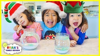 Easy DIY Kids Science Experiment Snow Storm in A Jar!!!!!