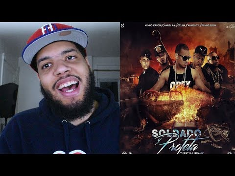 Anuel Salio! Soldado Y Profeta (Remix) (Official Video) Reaccion Video Oficial
