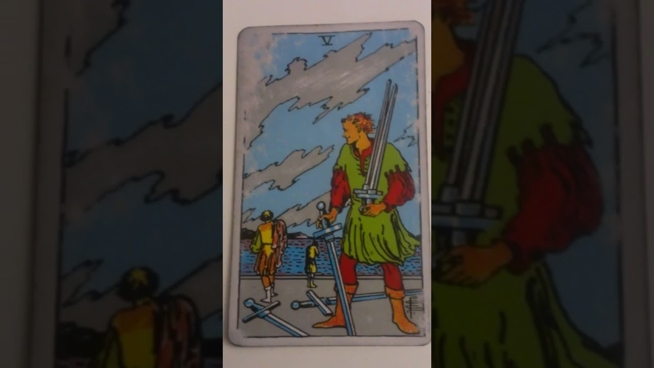 The Five Of Swords As Feelings In A Love Reading