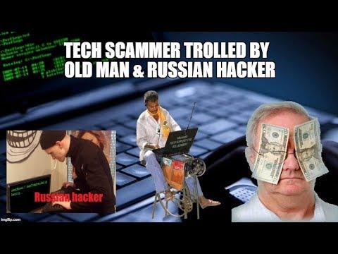 Old Man VS Tech Scammer VS Russian Hacker