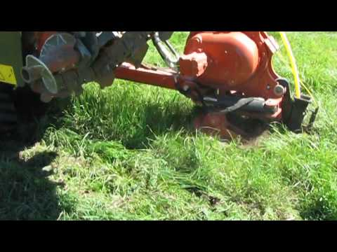 Plowing in a Natural Gas Utility Pipeline