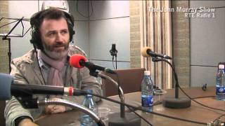 Tommy Tiernan chatting to John Murray live on RTÉ Radio 1