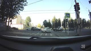 Момент Аварии на проспекте Гагарина