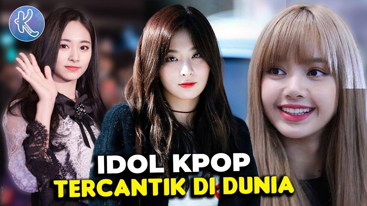 Bikin Cowok Meleleh 20 Idol Kpop Tercantik Di Dunia Versi Tc Candler Youtube