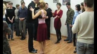 Открытый урок танго в школе TangoCity 10 марта 2010