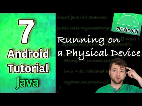 Android App Development Tutorial 7 - Running on a Physical Device | Java thumbnail