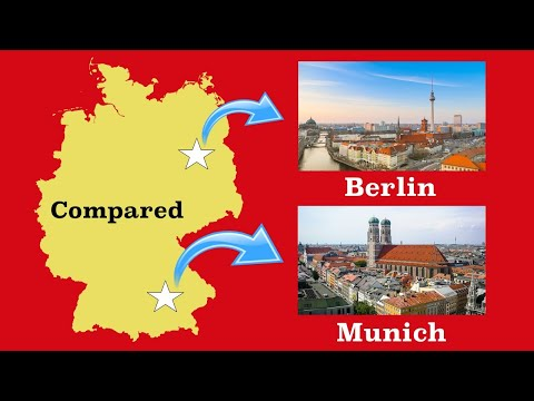 Berlin and Munich Compared
