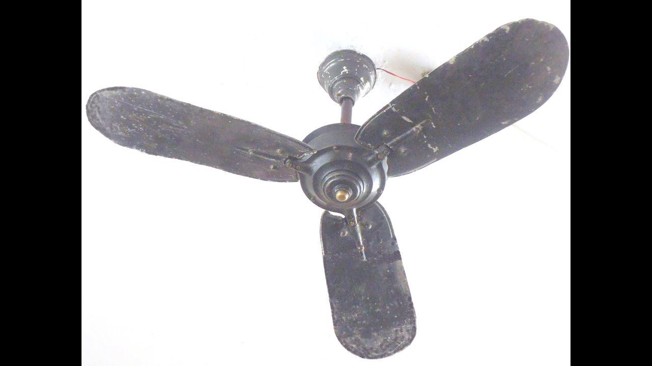 ceiling fan vintage. ceiling fan falling down part 5 ;1936 very old vintage falling, with slow-mo 2016-2017 - youtube