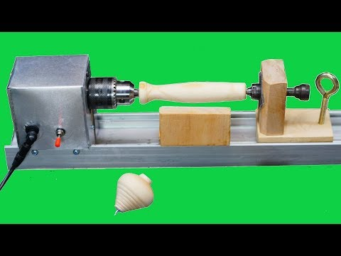How to Make Mini Wood Lathe Machine II Low Cost II