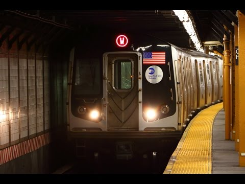 MTA New York City Subway : The Return Of The (W) Line! [ BMT Broadway Line ]