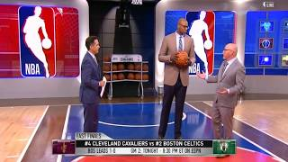 Cavaliers vs Celtics Game 2 PregameTalk | NBA Gametime | May 15, 2018