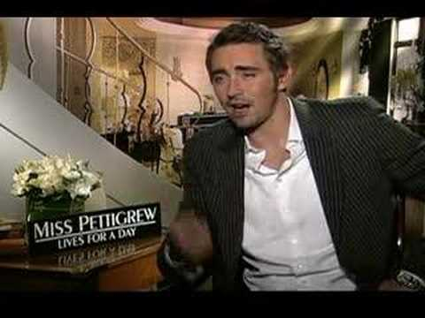 Lee Pace interview for Miss Pettigrew Lives for a Day