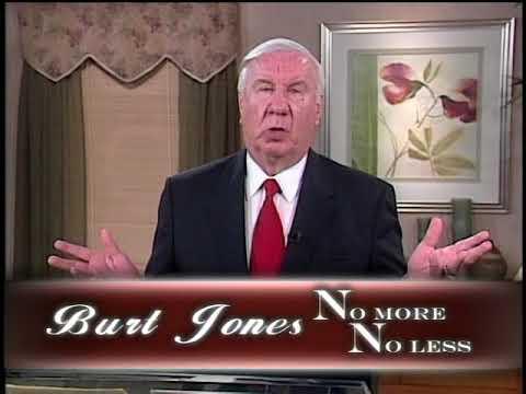 No More, No Less - Burt Jones
