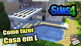 The Sims 4 - Tutorial de Construção - Casa em
