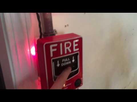 Fire alarm system test 3