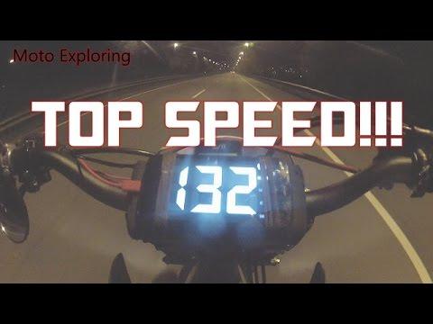 ✅ Honda CRF 450 Supermoto Top Speed!!! - YouTube