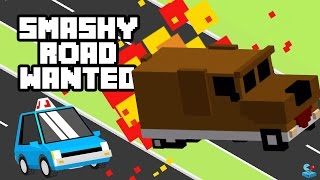 SMASHY ROAD: WANTED - Doge Truck vs Police Cars and Tanks