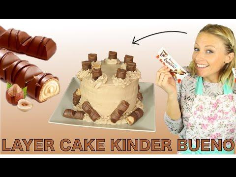 Recette Layer Cake Kinder Bueno De La Pure Tuerie