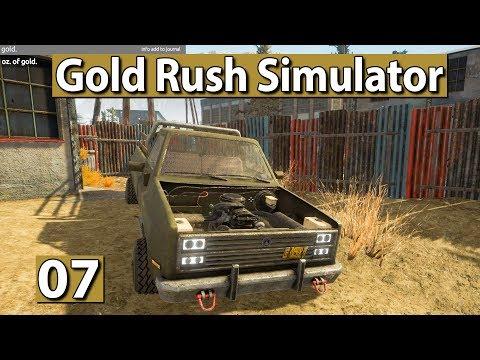 GOLDGRÄBER SIMULATOR | Ausflug über die Map #07 ► Gold Rush Gameplay deutsch