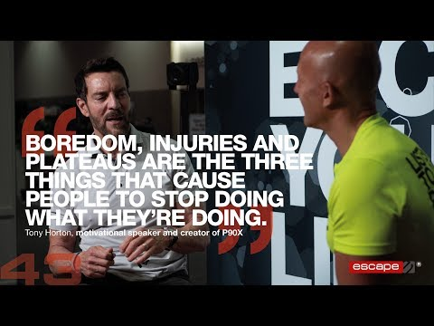 Tony Horton, The Creator Of P90X  - Escape Your Limits Podcast Ep.43