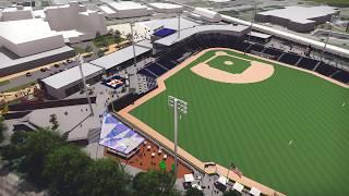 Final Schematic Design of the Astros Baseball Stadium