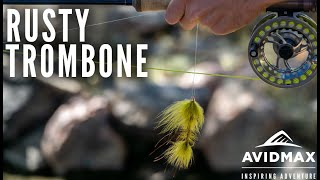 How to tie an Easy Articulated Streamer l Rusty Trombone I Fly Tying