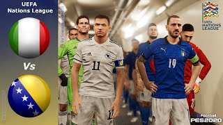 PES 2020 • Italia Vs Bosnia • UEFA Nations League