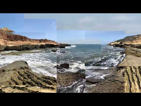 Cabrillo National Monument Tide Pools Video Collage