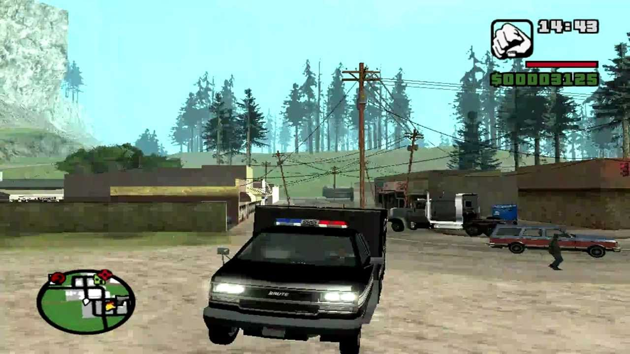 Gta SA Mod LAPD SWAT Transporter - YouTube
