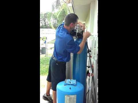Culligan Water Platinum Care service on iron filters