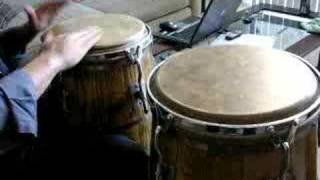 Bat Rhythm Yesa on Congas