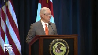 WATCH: Attorney General Sessions discusses law enforcement in Alabama Free HD Video