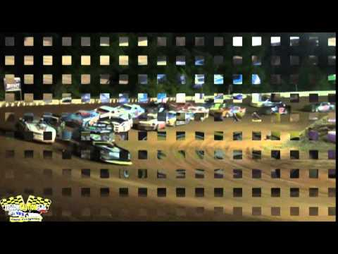 MISSISSIPPI STREET STOCKS INVADE FLOMATON SPEEDWAY FOR THIS INAUGURAL EVENT 4/19/14 PART 4