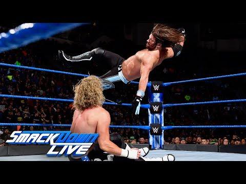 AJ Styles vs Dolph Ziggler: SmackDown , March 6, 2018